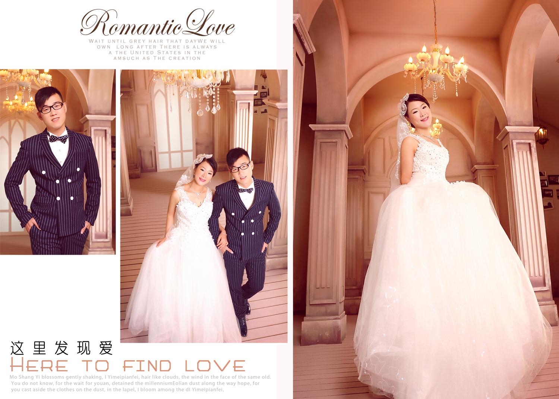 图册 摄影技巧 婚纱相册排版设计图片